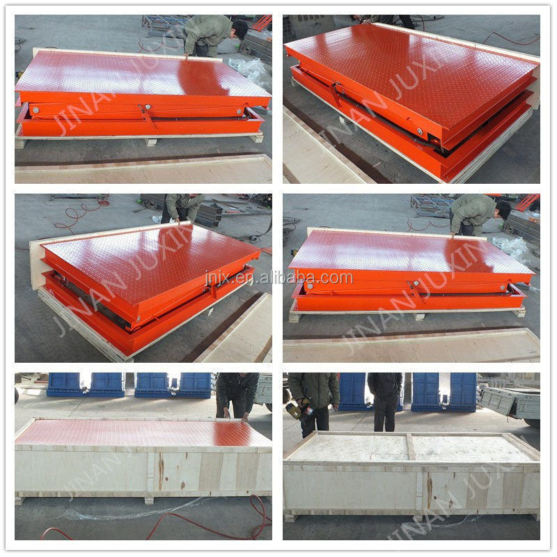 High-quality fixed hydraulic car scissor lift platform for outdoor