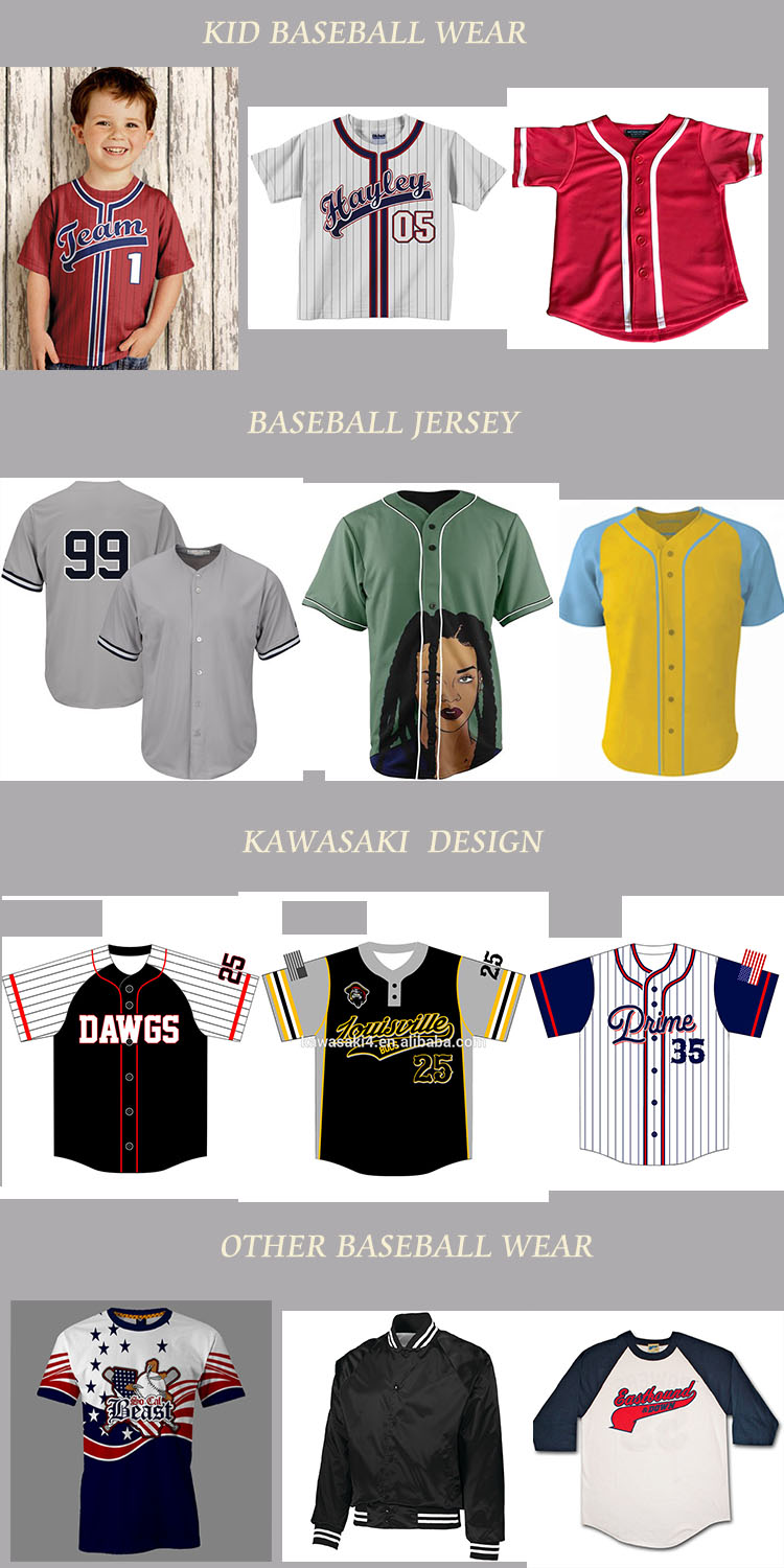 wholesale custom cheap blank slim fit sublimation printed baseball jersey for sale