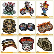 Professional Popular Free Artwork Personalized Custom Badge Garment Embroidery Patches