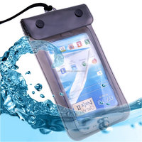 2016 wholesale floating custom pvc phone bag waterproof mobile case