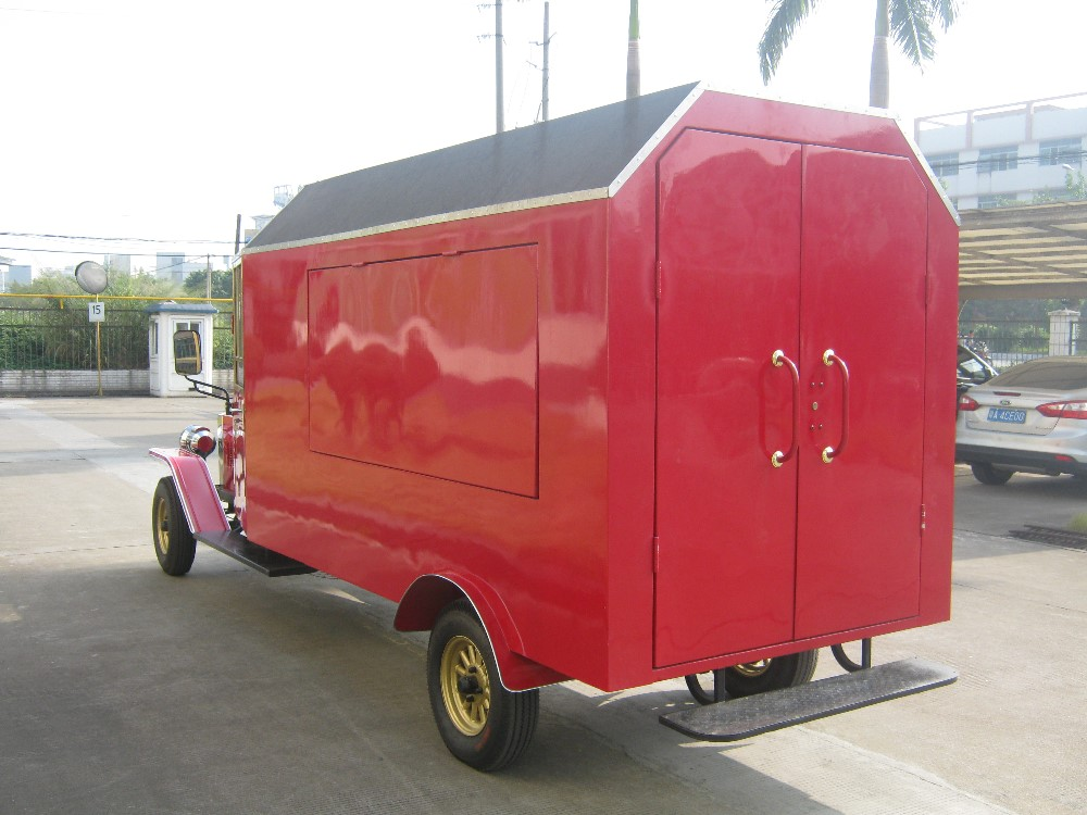 NEW 2 seater royal battery operated food transport vending car