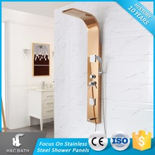 Fancy upc shower faucet and showers panel
