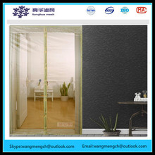 2016 New mosquito preventing decorative pattern fiberglass insects door curtain magnetic kitchen folding screen door
