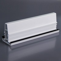 White upvc glazing bead window profiles manufacturers plastic pvc profile for windows