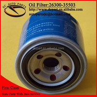 oil filter 26300-35501 for hyundai
