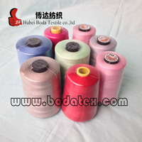 color polyester sewing thread 40/2 for sewing and stitching