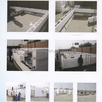 Icf Block Wall Construction Material For Sale With Low