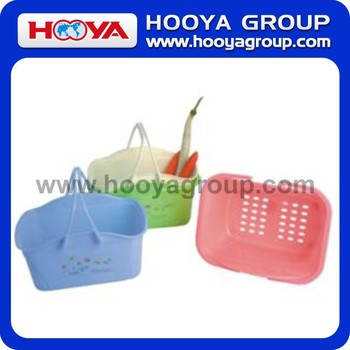 31*23.5*16.5CM Rectangular Shopping Soft Basket With Handle