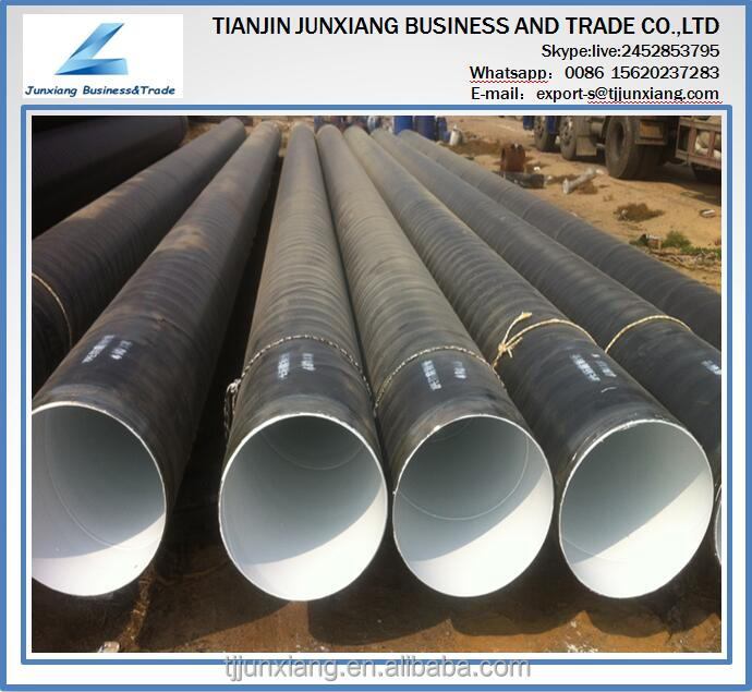 Manufacturing pe coated jf508 erw mill line welded steel pipe
