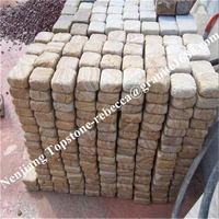 china hot sale granite stone foot shape stepping stone