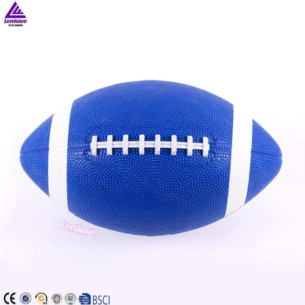 Lenwave brand football ball custom cheap price rubber mini american football