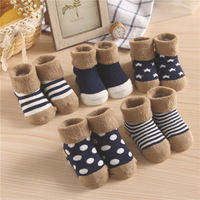 China Manufacture Custom 100% Organic Cotton Baby Socks