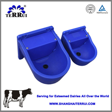 Blue Plastic durable cow/sheep/horse drinking bowl