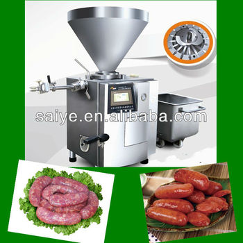 stainless steel vacuum sausage stuffing machine