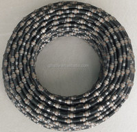Dry-cut diamond wire saw for marble quarry