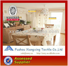 100% polyester custom western embroidery pattern table cloth