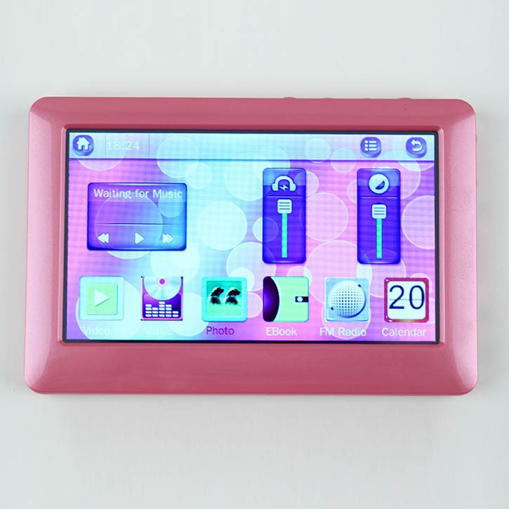 4.3'' 16:9 Touch TFT Screens 100% Brand New Digital Converter Mp5 Player Manual