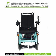 European lightweight folding aluminum wheelchair for the elderly with CE 4636