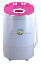 semi automatic apple cover portable small washing machine with spin dryer