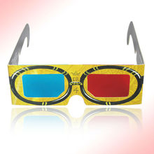 2013 Hot sell Promotional custom logo cartoon 3d glasses