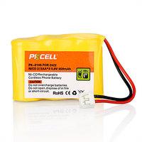 PKCELL NI-CD 3.6v battery pack PK-0105 450mAh 2/3AA cordless phone 2422 BPT27 P301
