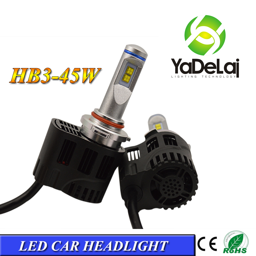 Automobiles & Motorcycles best quality car led headlight HB3 9005 55W 5200lm