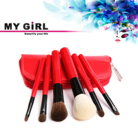 2016 my girl new style high quality salon professional factory make up brush goat hair makeup brush