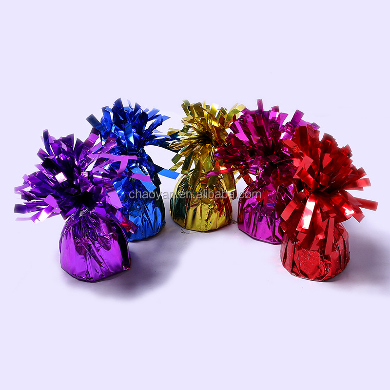 Hot Selling colorful plastic balloon Weight For Helium foil balloons Wedding Centerpieces Plastic Balloon Weight