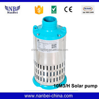 Home DC energy saving solar submersible water pump system price