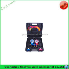 Hot selling Refrigeration tool set Manifold gauge for R410,R134A