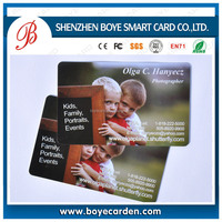 Elegant design promotional business card of CMYK 4 colors offset printing