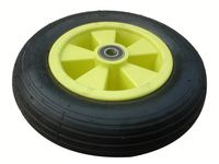 wheelbarrow 10 inch puncture proof tires