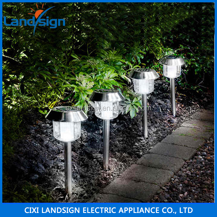 2016 cixi landsign hot sale garden solar light,low voltage floor lamp /xltd-300 low voltage mini led deck light kit