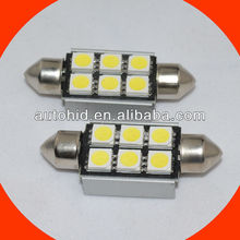 C5W 6smd 5050 festoon Canbus auto led light, auto led bulb, led car light