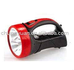 super bright LED flashlight LED searchlight LED-8023