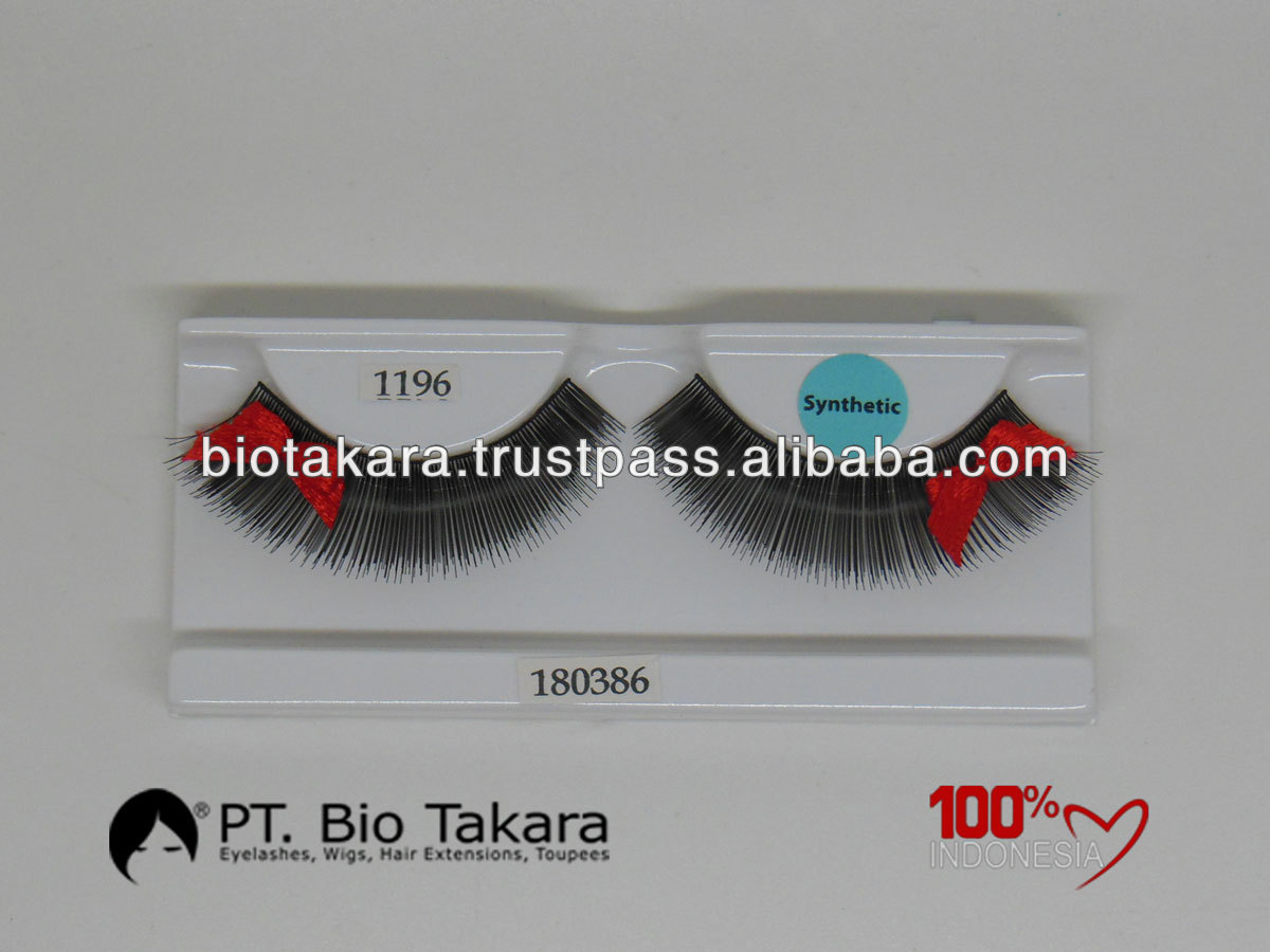 High Quantity False Eyelash with Bow Made in Indonesia