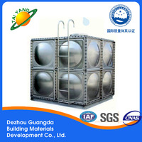 New design durable strong for wholesales Modular stainless steel water tank