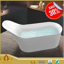 self cleaning ceramic large plastic bathtub R-3070