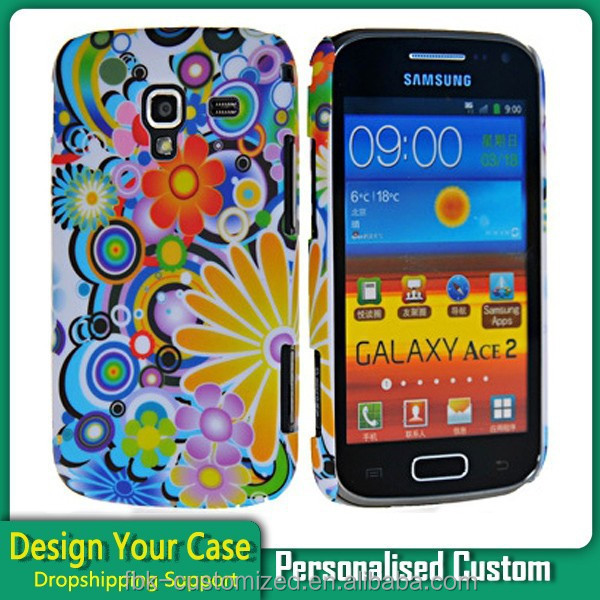 Water Transfer Printing Film Case for Samsung Galaxy Ace 2 I8160 Custom Design