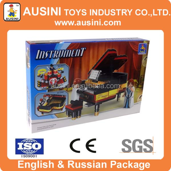 ABS plastic mini piano toys