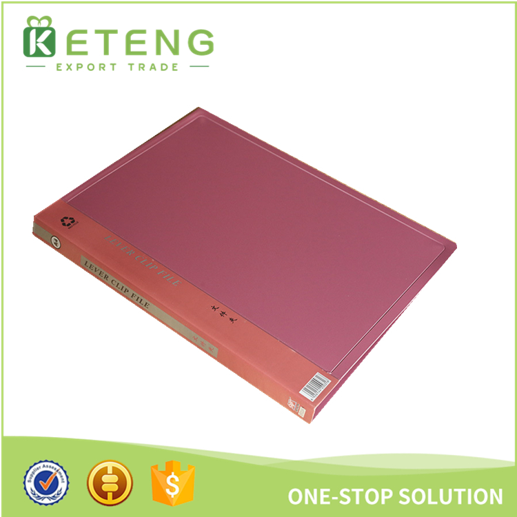 Custom size/logo a4 a5 printed loose leaf classification folder