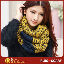loop scarf knitting pattern cotton winter loops scarf in stock