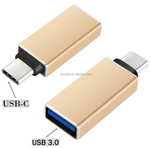 Multi-function USB 3.0 Type C 3.1 Male to Female OTG Data Charger Adapter For Tablet, Mobile Phone