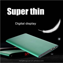 High capacity 10000mah power bank universal power bank super thin model power station for mobile