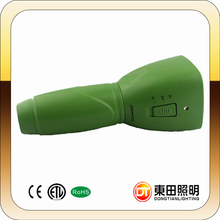 Hot selling cheap price high quality 1800mAH battery green led hunting flashlight