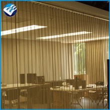 metal curtain vertical blinds hotel partition