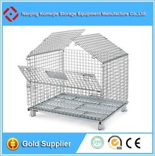 Folding Metal Wire Dog Crate