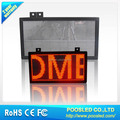 scrolling text led moving signs \ single color led moving display