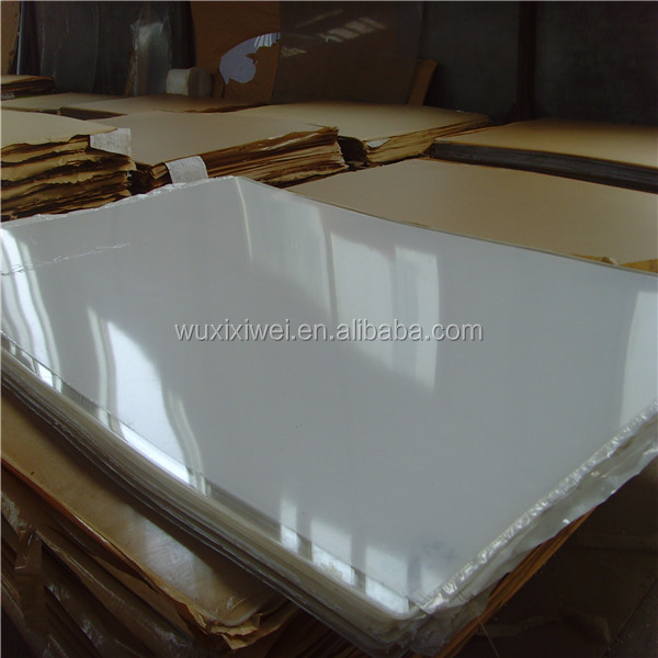 3mm 5mm Super Clear PVC Sheet with PE Masking Replace Acrylic Material