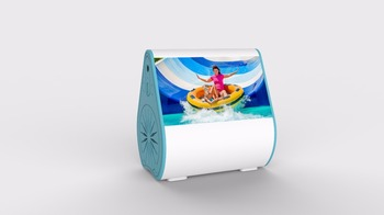 Fashion Style Blue Best Portable Bluetooth Wireless Speakers For The Beach